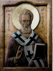 St Martin of Tours : Revered Christian Saint and Pagan temple destroyer