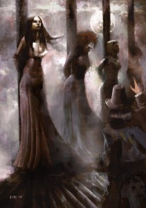 Women burnt at the stake