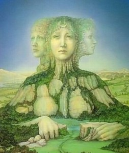 Gaia Earth Goddess