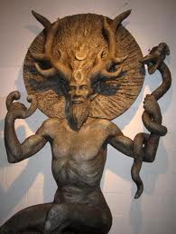 Cernunnos the thorned God