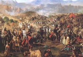 Reconquista which ended with the fall of Granada