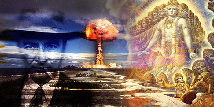 Was a nuclear-type bomb exploded far before we were supposed to have the technology?