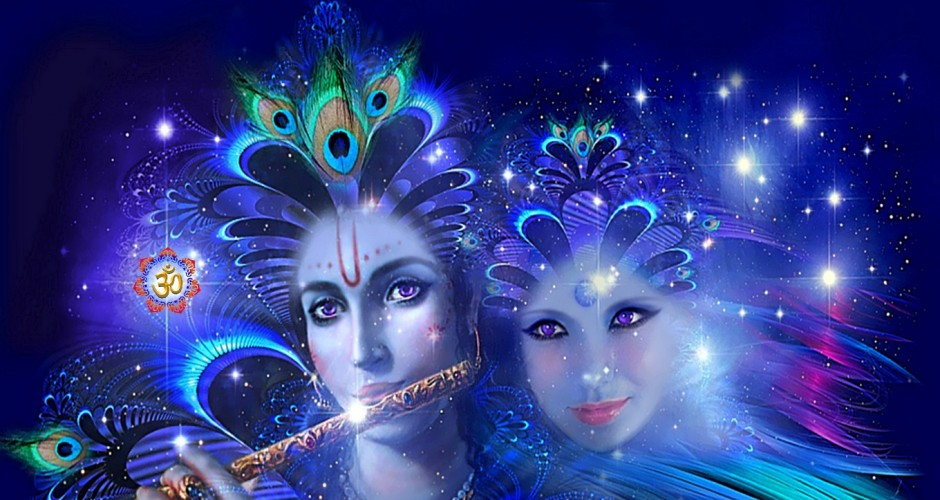 A Tale Of Radha, Krishna and Uddhava