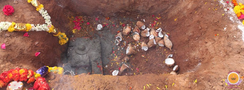 bhoomi (earth) Puja for water project