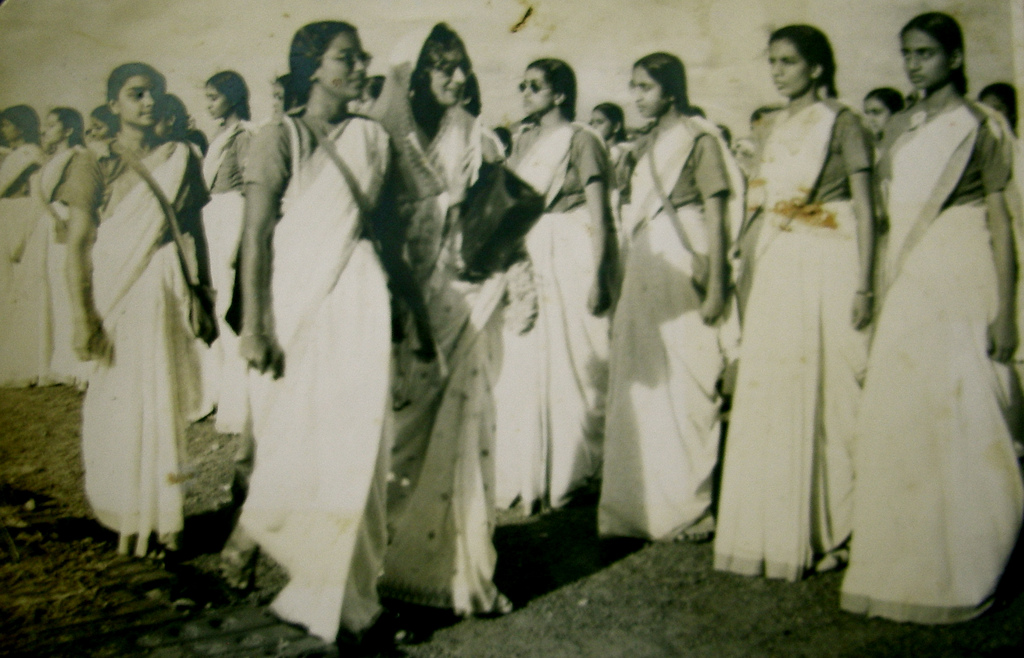 Guard of Honour for Dr. Rajkumari Amrit Kaur at All-India Women's Conference, Madrab