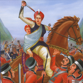 my favourite leader rani lakshmibai A stunning combination of courage, kindness, brains and honour, rani laxmi bai  cemented her place as our favourite warrior in our heartsfierce and strong.