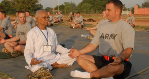 US military includes Yoga for Combat Perfection and Healing