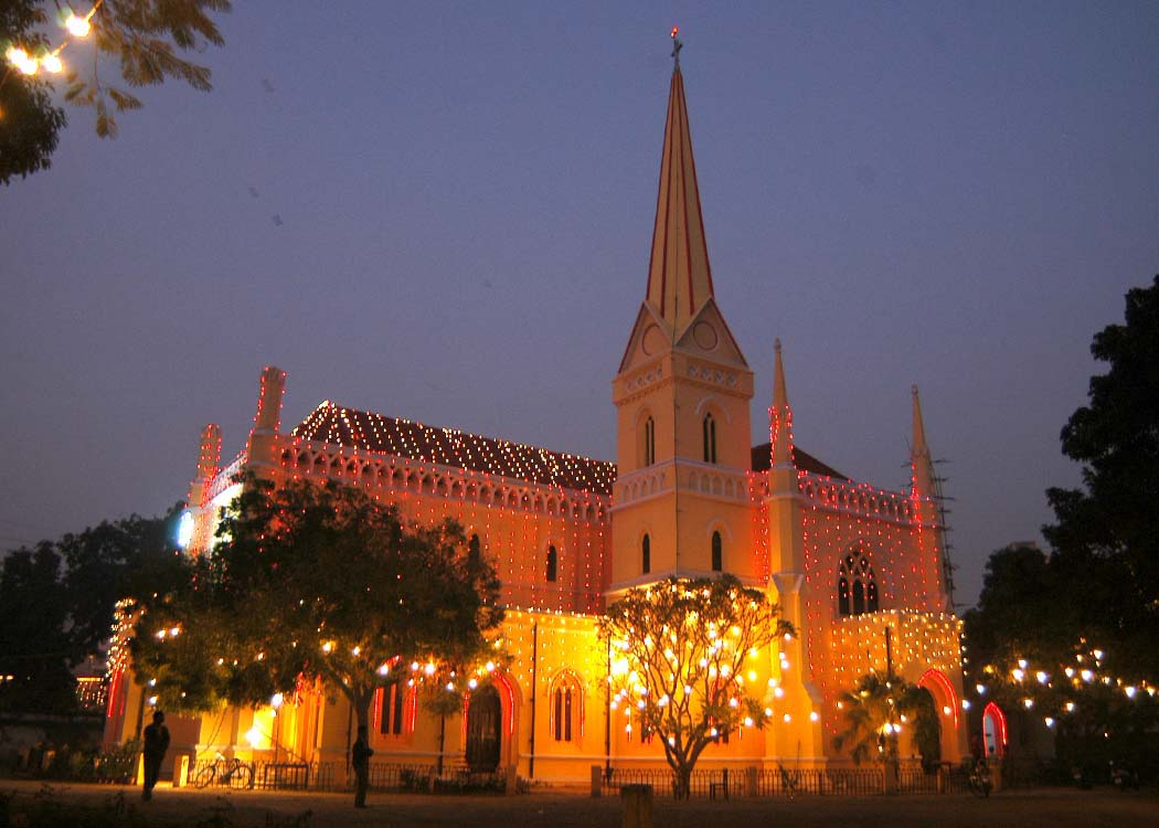 Christ Church Picture: Church Funds Equal Indian Navy's Annual Budget