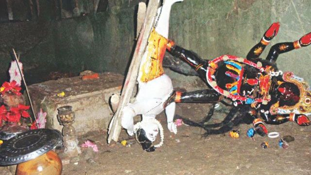 Idols of Hindu gods, goddesses vandalised in Bangladesh
