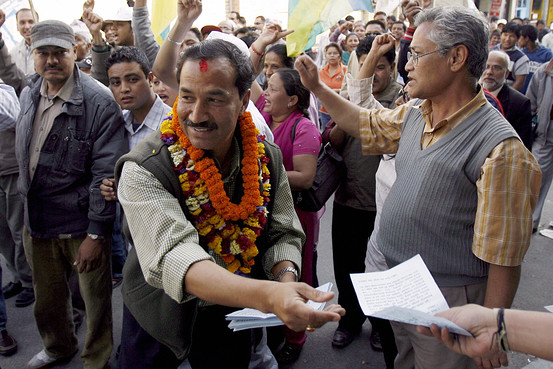 In Newly Secular Nepal, Votes for Hinduism
