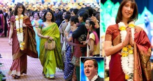 British PM and Wife Celebrate Diwali at Hindu Temple