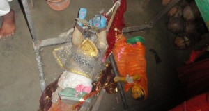 Bangladesh : Hindu Deities (Murthi) destroyed