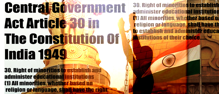 Article 30 : Discrimination Against Hindus by the Indian State