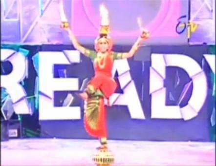 Indian Classical Dance Done with Amazing Skill and Focus on Lord Shiva