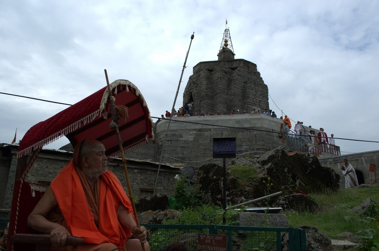 Kashmiri Hindus Protest Against Renaming of Shankaracharya hill
