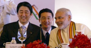 Twitter friendship blossoms for Narendra Modi and Shinzo Abe