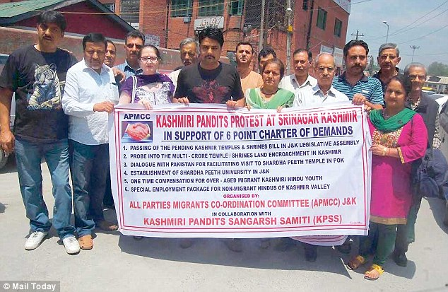 Kashmiri Pandits threaten to 'fast-unto-death' unless temple and shrines bill is passed in J&K