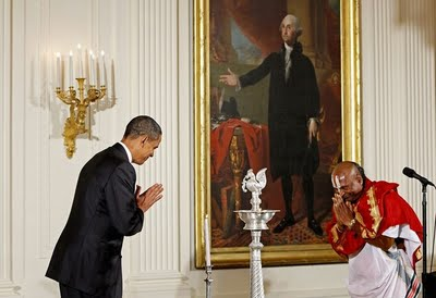 Christian Warning : Diwali in White House – Rise of Paganism in America