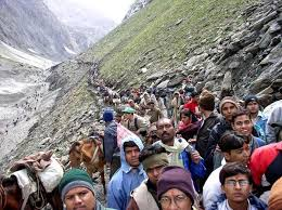 Violence at Amarnath base camp, yatra stalled