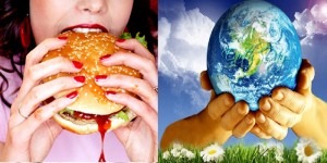 Stop Eating Mother Cow to Save Mother Earth