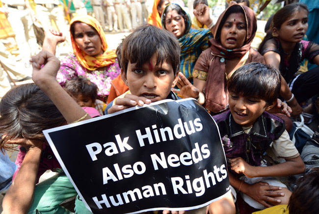 Video : HHR Talks To Pakistani Hindu Refugees in New Delhi
