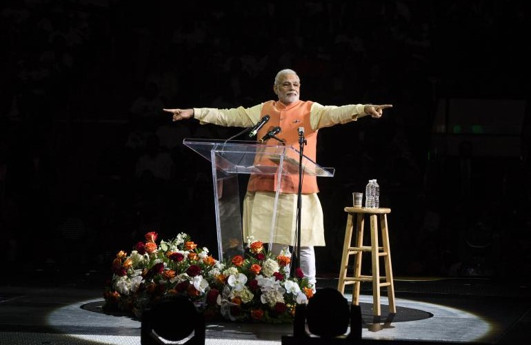 Chat Show Humour : Narendra Modi In New York