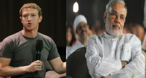 Facebook's Mark Zuckerberg in India, looks to work with PM Narendra Modi on connecting villages