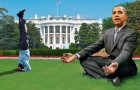 Barack Obama expresses interest in yoga