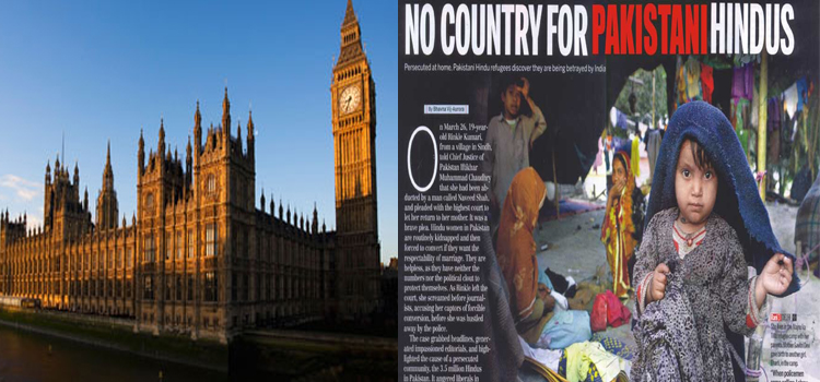 HHR in Conjunction with BPCA launch book in British parliament on discrimination against Minorities in Pakistan