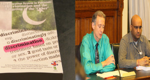 British Parliament book launch for The Education System in Pakistan: Discrimination and the Targeting of the 'Other'