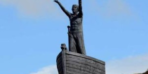 Christian extremists steal statue of Celtic sea god from mountain top in Northern Ireland