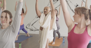 Video : If Gandhi Took A Yoga Class