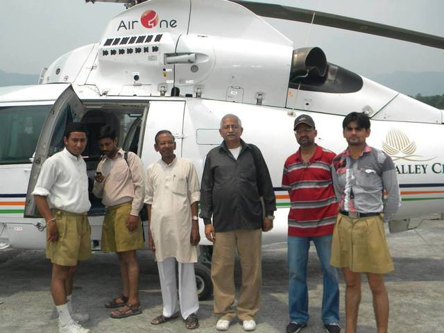 20 Thousand RSS Personnel Engage in Relief Efforts in Nepal While Christian missionaries look for Conversion Opportunities
