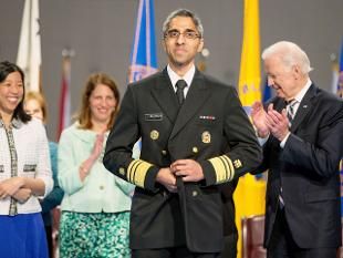 Indian-American Vivek Murthy is US's youngest surgeon-general, takes oath on Gita