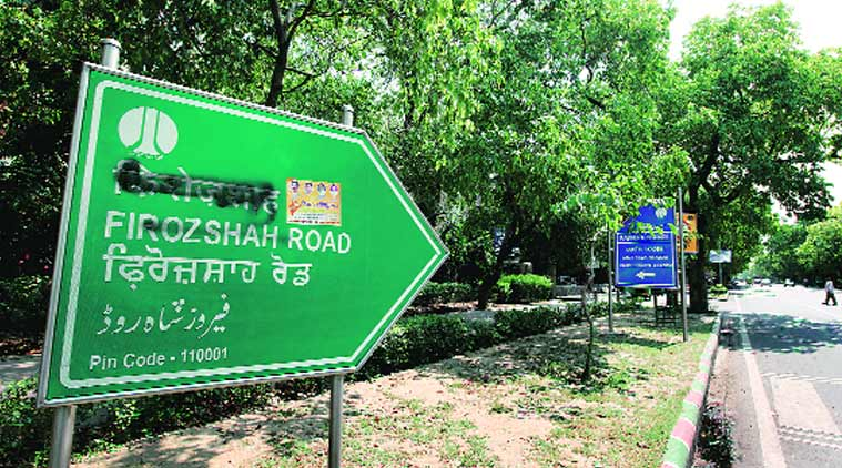 Road signs with Muslim names defaced in Delhi, Hindu outfit owns responsibility