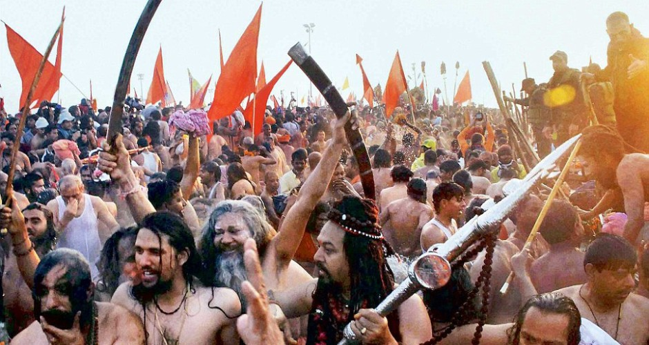 Haridwar: Sadhus threaten stir if Surya Namaskar not in Yoga Day event
