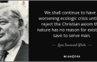 The historical roots of our ecological crisis