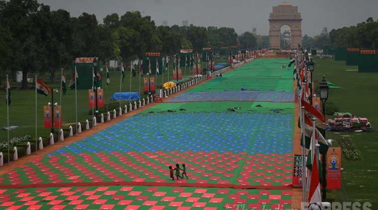 Yoga Day: 192 countries, 37,500 mats in Yoga Capital