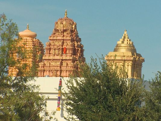 HHR Video : Frisco's Hindu Temple opens with world record