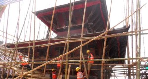 Reconstruction Begins on Famed Nepalese Temple of Manakamana Damaged in Earthquake