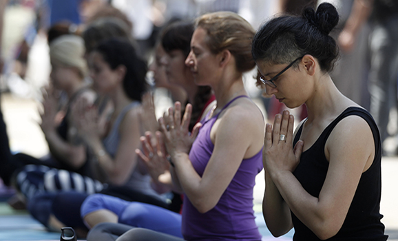 Turkish officials ban religious symbols at yoga centers