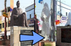 Authorities Cover Statue Of Swami Vivekananda With Burqa on Bakrid