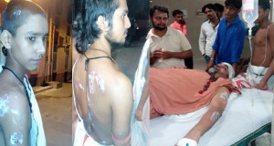 Murthi Immersion row: Seers hurt in police action in Kashi, warns to intensify stir