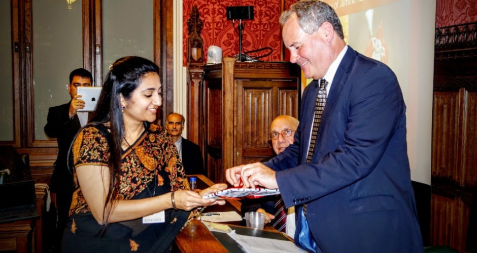 Kashmiri Hindus mark Jammu & Kashmir's accession to India at UK Parliament
