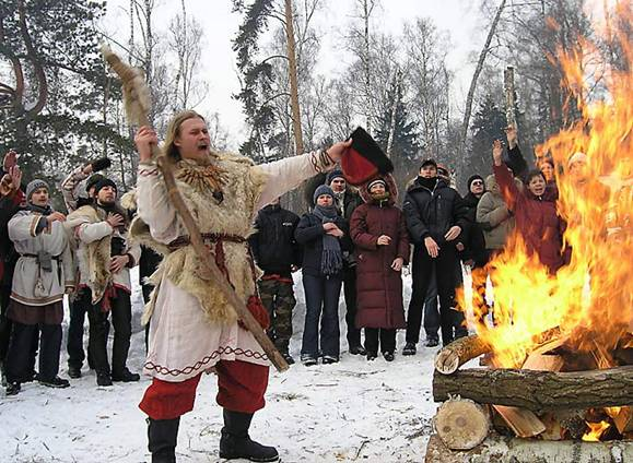 Paganism vs Christianity In Russia