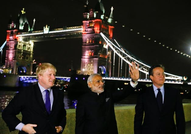 Modi changes the discourse in London