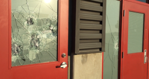 Canada : Kitchener Ram Dham Hindu temple windows smashed by vandals
