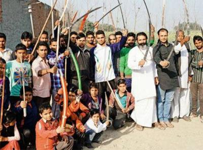 15,000-strong 'dharma sena' in Uttar Pradesh readies for war with Islamic State