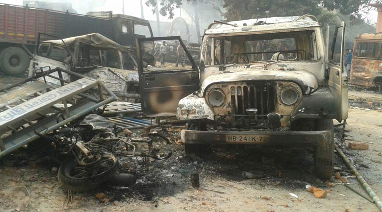 West Bengal: Malda tense as anti-Tiwari rally turns violent