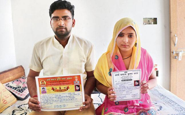 Fearing riots, Dadri's Hindu-Muslim couple refused marriage registration